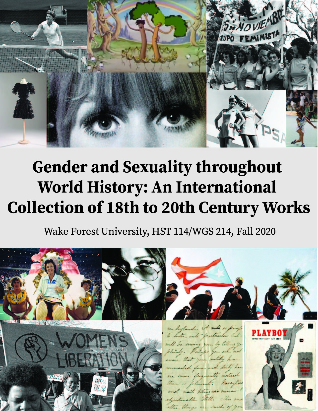 Cover image for Gender and Sexuality Throughout World History